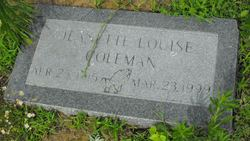 Jeanette Louise Coleman