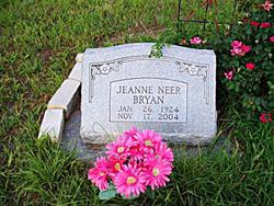 Jeanne <i>Neer</i> Bryan