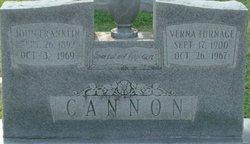 Verna D <i>Turnage</i> Cannon