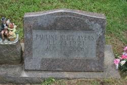 Pauline <i>Klitz</i> Ayers