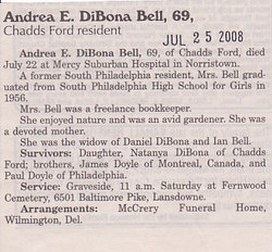 Andrea E <i>Doyle</i> Bell