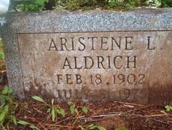 Aristene Laura <i>Plummer</i> Aldrich