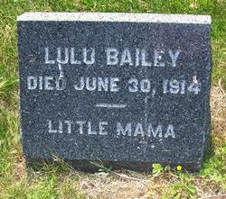 Louise Lulu <i>Duryea</i> Bailey