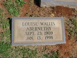Louise <i>Wallis</i> Abernethy