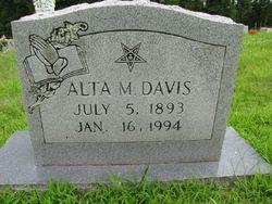 Alta May <i>Waters</i> Davis