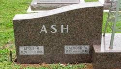 Bessie M. <i>Enyeart</i> Ash