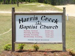 Harris Creek Baptist Church Cemetery