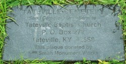 Tateville Baptist Church Cemetery