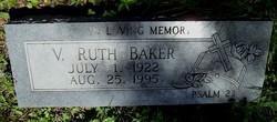 V. Ruth Baker