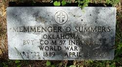 Memmenger D. Summers