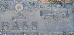 Mary Frances <i>Brown</i> Bass