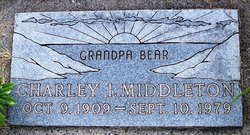 Charley I. Bear Middleton