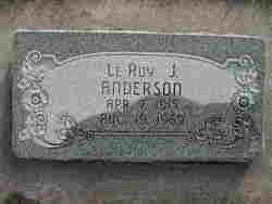 LeRoy Julius Anderson