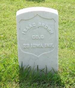 Pvt Isaac Brown