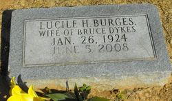 Lucille <i>Burgess</i> Dykes