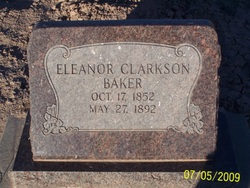 Eleanor <i>Clarkson</i> Baker