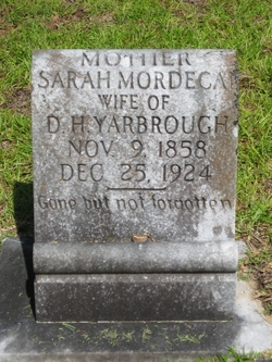 Sarah Jane <i>Mordecai</i> Yarbrough