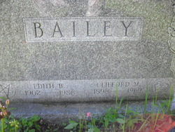 Edith A. <i>Beal</i> Bailey