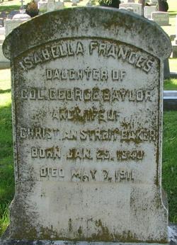 Isabella Frances <i>Baylor</i> Baker