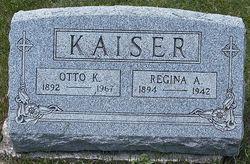Mrs Regina A. <i>WENDLING</i> Kaiser