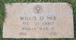 Willis O Nix