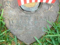 Christy Maria Bullitt