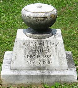 James William Ponder