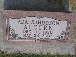 Ada S. <i>Hudson</i> Alcorn