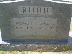 Fannie A <i>Burke</i> Rudd