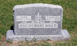 Barbara <i>Augustine</i> Aschenbrenner