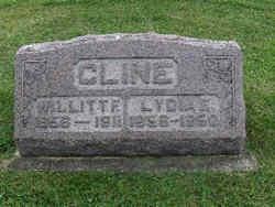 Lydia E. <i>Harlan</i> Cline