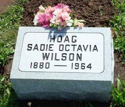 Sadie Octavia <i>Wilson</i> Hoag