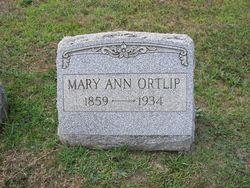 Mary Ann <i>Rhoads</i> Ortlip