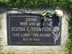 Bertha Claudice <i>White</i> Thompson