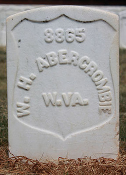 Pvt William H. Abercrombie