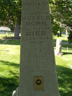 Joseph White Musser