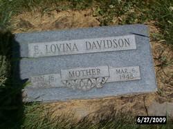 Electa Lovina <i>Snyder</i> Davidson