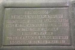 Thomas William Bowlby