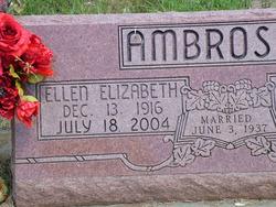 Ellen Elizabeth <i>Fetterolf</i> Ambrosier