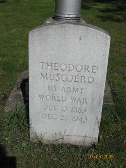 Theodore Musgjerd