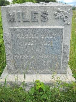 Phebe Ann <i>Thompson</i> Miles