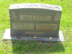 Virginia N. <i>Redus</i> McLeod
