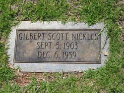 Gilbert Scott Nickles