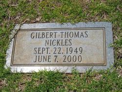 Gilbert Thomas Nickles