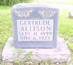 Gertrude Allison