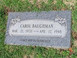 Carol <i>Spikes</i> Baughman