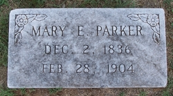 Mary Elizabeth <i>Hart</i> Parker