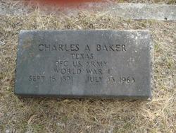 PFC Charles A Baker