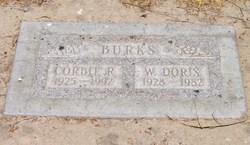 Willie Doris <i>Dickson</i> Burks