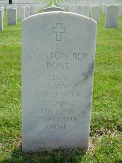 Clinton Roy Bone